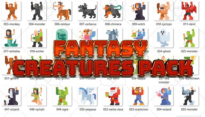 Fantasy Creatures Pack