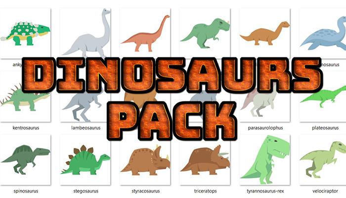 Dinosaurs Pack