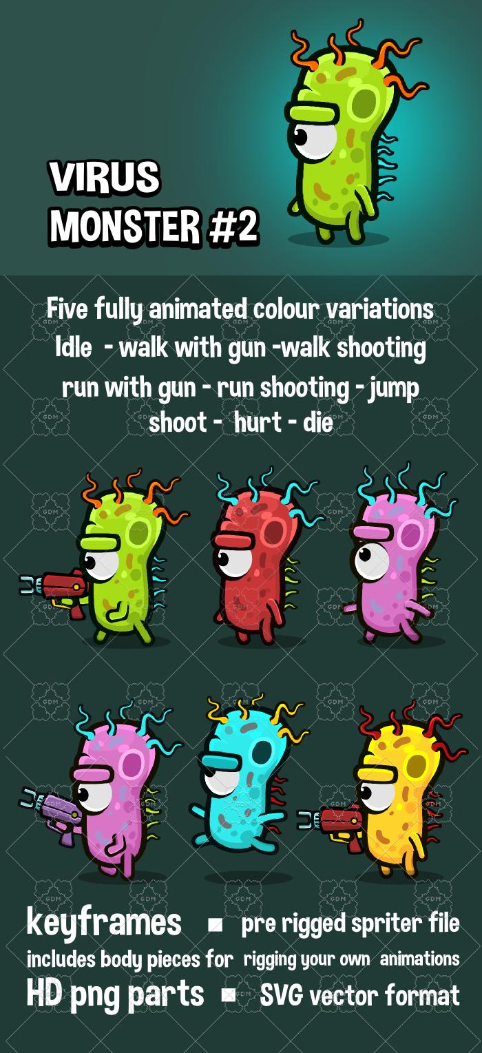 Virus monster 2