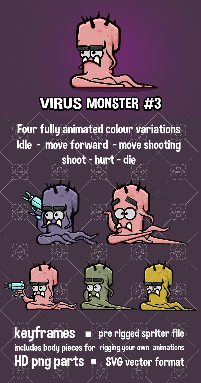 Virus monster 3