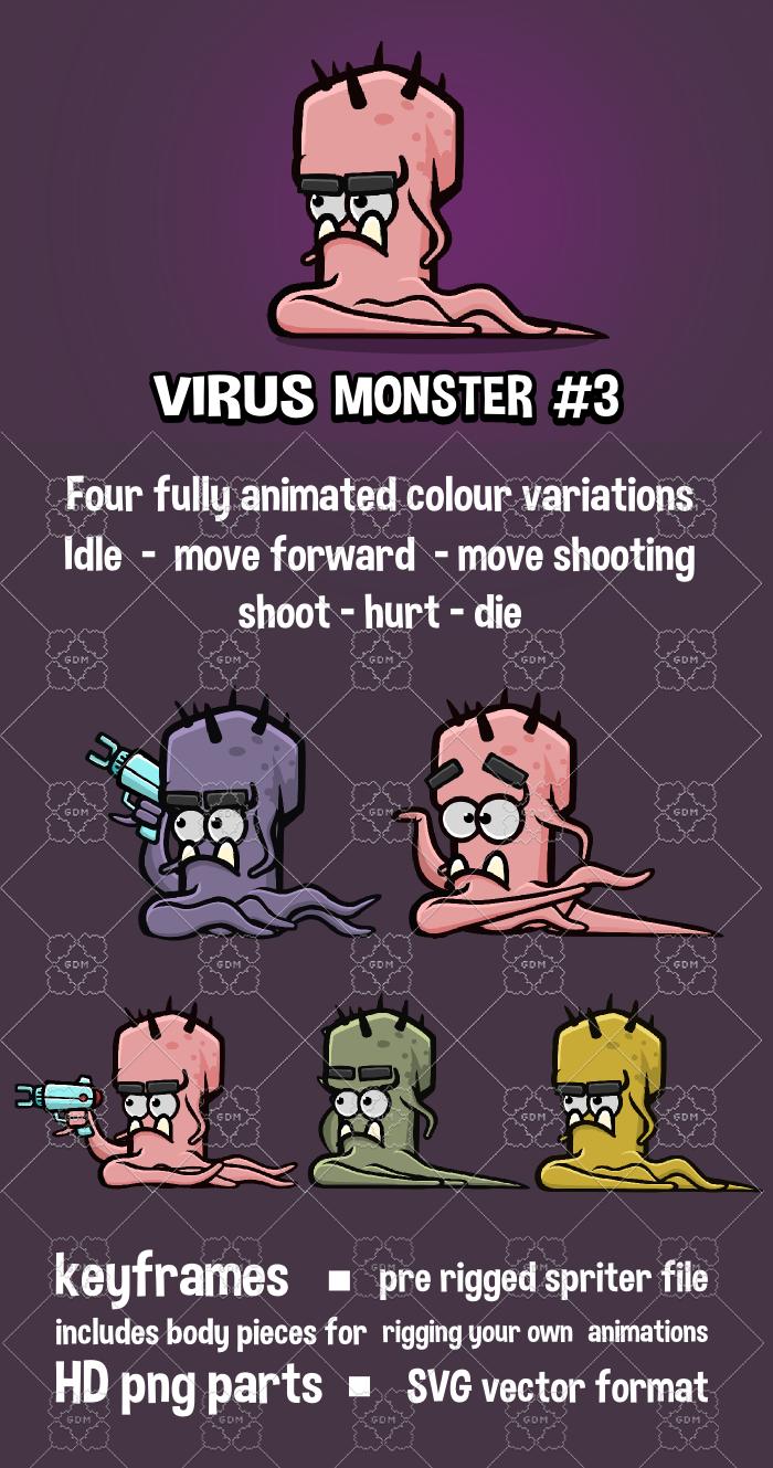 Virus monster 3