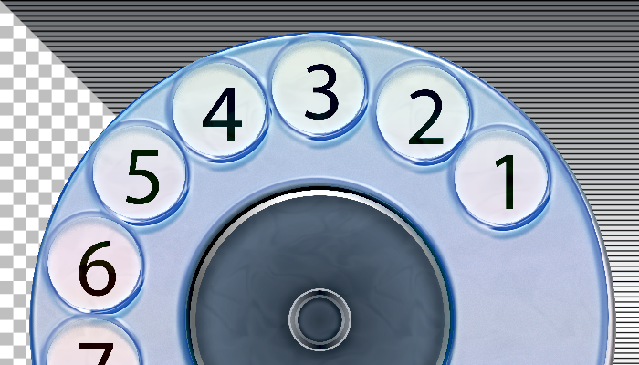 Telephone classic Dial-pad
