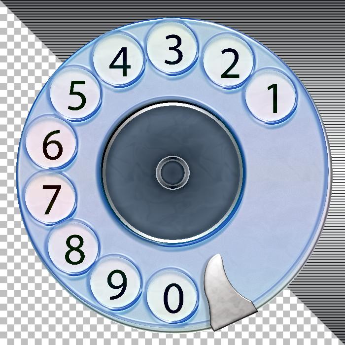 Telephone classic Dial-pad