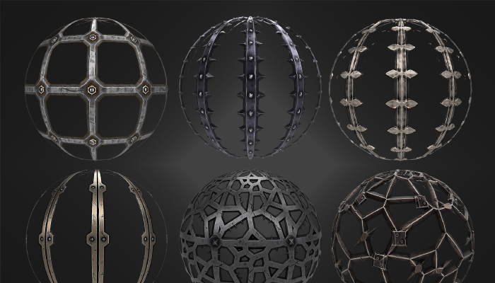 Stylized Metal Materials Vol 02