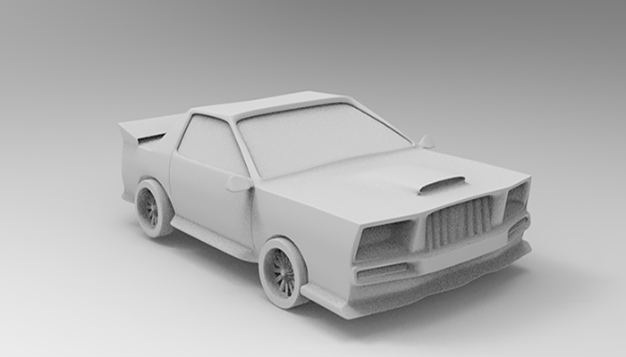 LOW POLY RACECAR V2