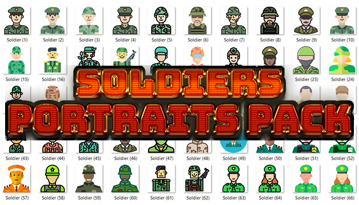 Soldiers Portraits Pack