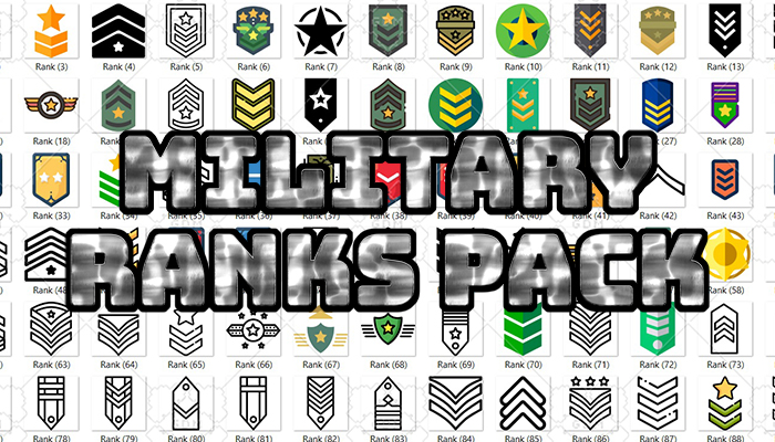 Military Ranks Pack