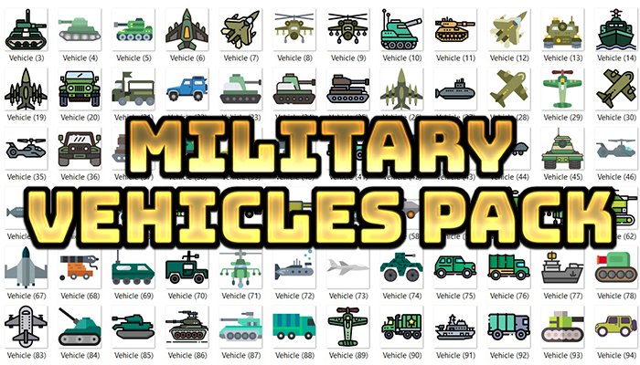 Military Vehicles Pack