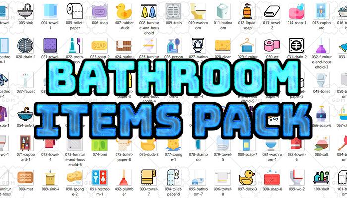 Bathroom Items Pack