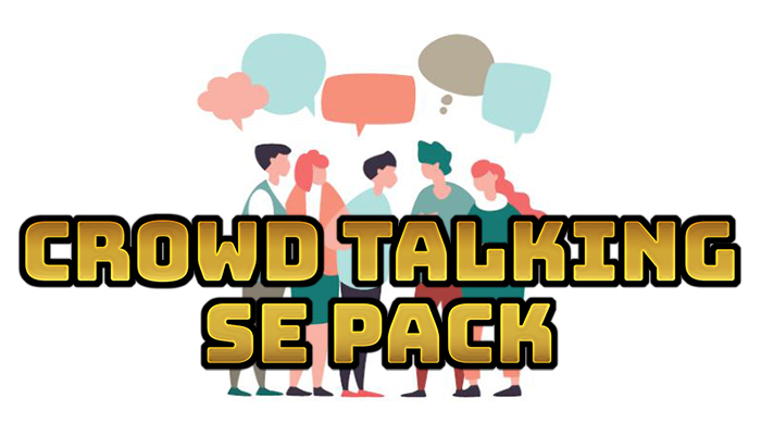 Crowd Talking Sound Effect Pack