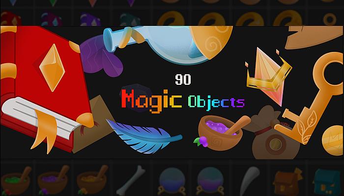 90 magic objects