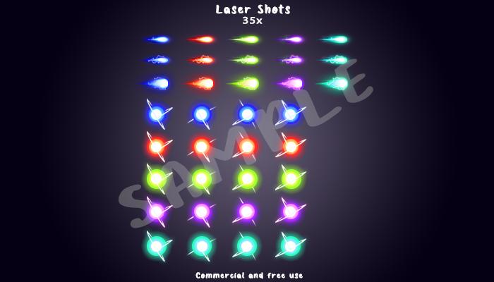 Laser Shots Pack