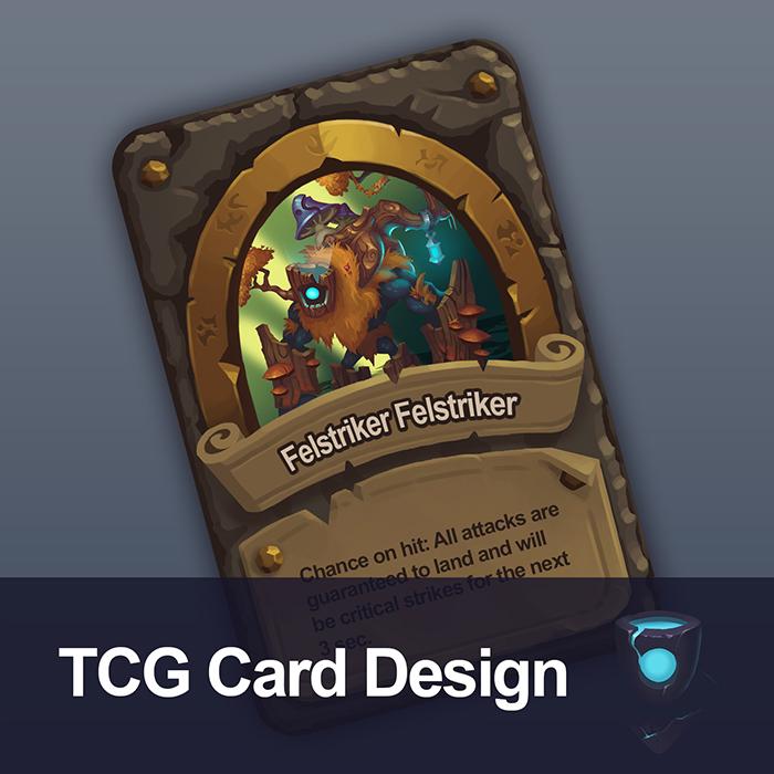 TCG Card Design 01