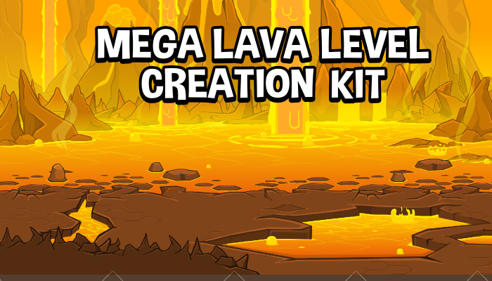 Lava level creation kit