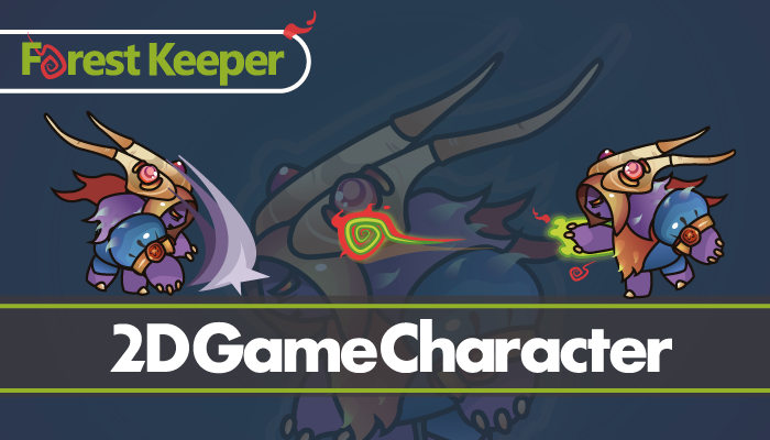2D Character – Forest Keeper