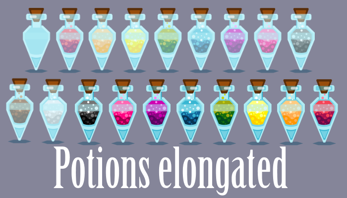 Potions Elongated