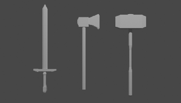 Fantasy Weapon Pack (not textured)