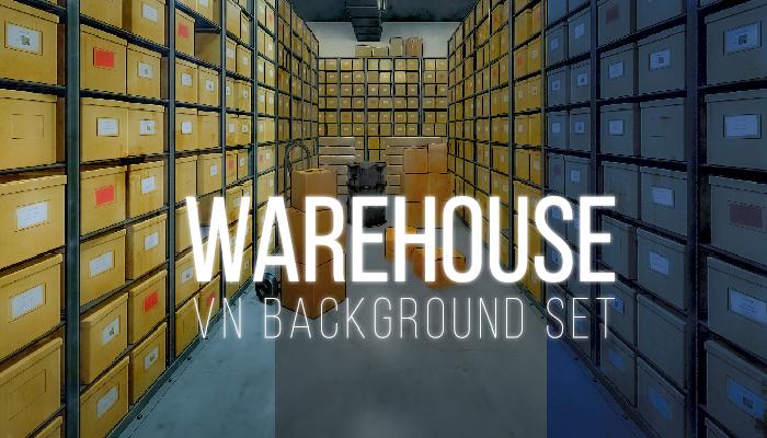 Warehouse Background Set