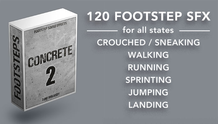 Footsteps Sound FX – Concrete 2