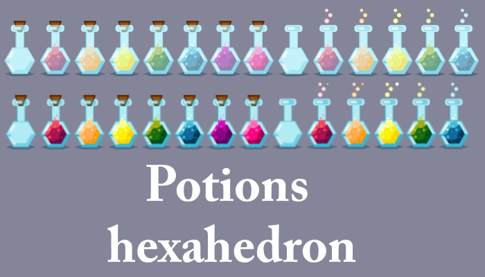 Potions hexahedron