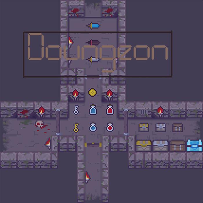 2D Titleset Doungeon