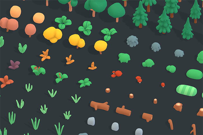 Nature Forest – Animation Asset