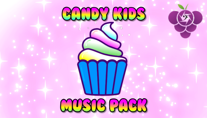 Candy Kids Music Pack