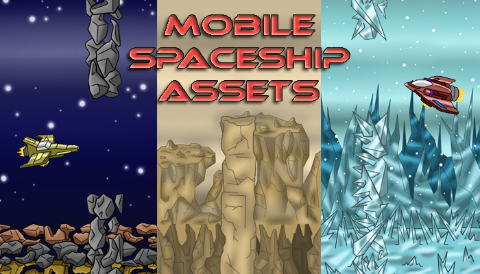 Mobile Spaceship Assets