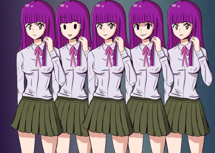 Visual Novel Sprite – Kira