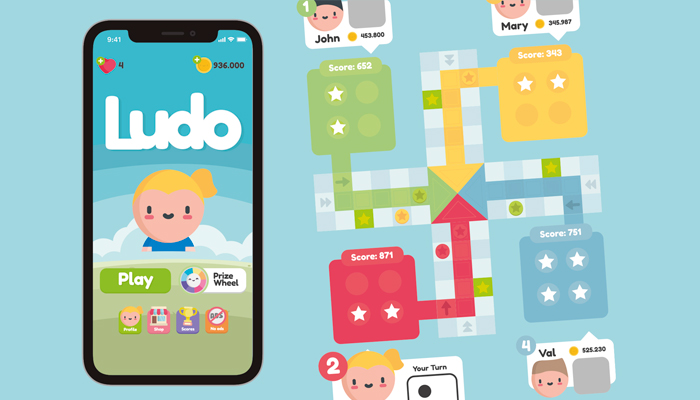 Ludo Game GUI Assets