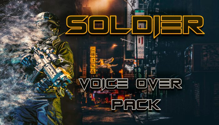 PRO Soldier Character Voice Pack