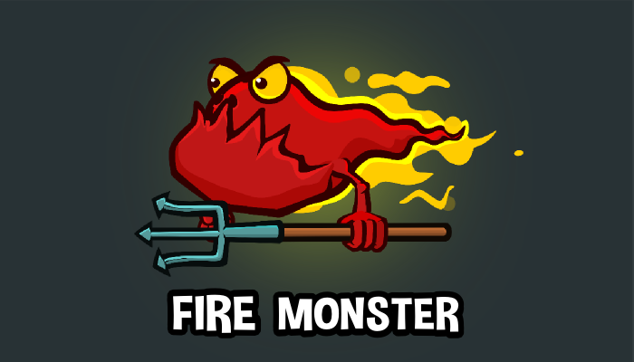 Fire monster