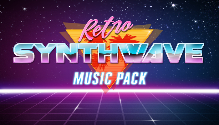 Retro Synthwave Music Pack