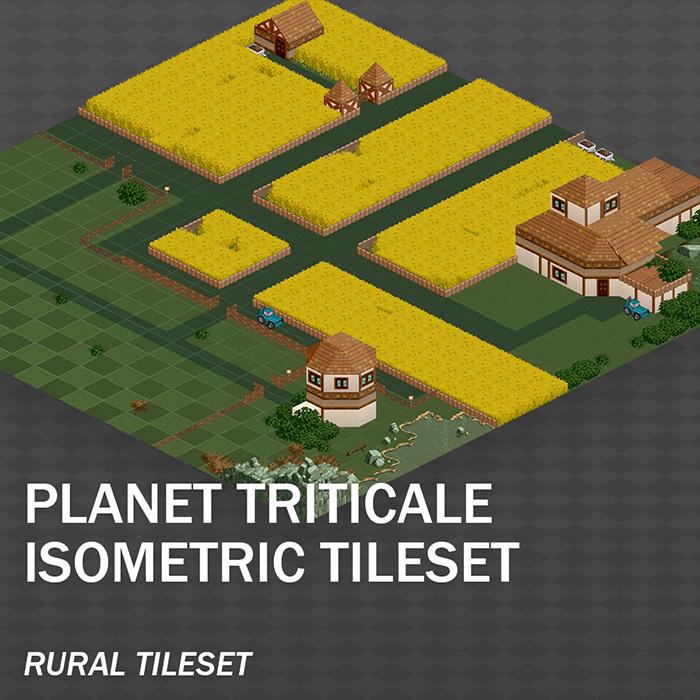 Isometric Rural Tileset