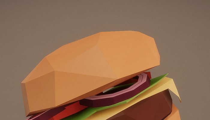 Low Poly Burger Pack