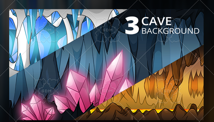 3 Cave Background