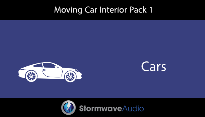 Moving Car Interior Pack 1