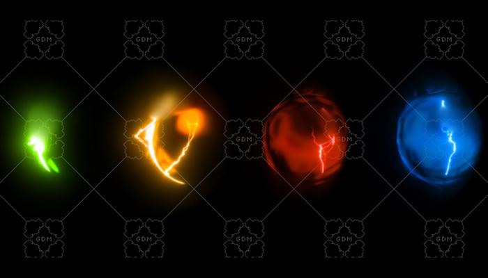[Animated] Sci-Fi Shield Deflect MultiColor