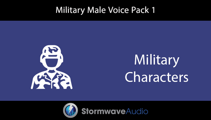 Military Male Voice Pack 1