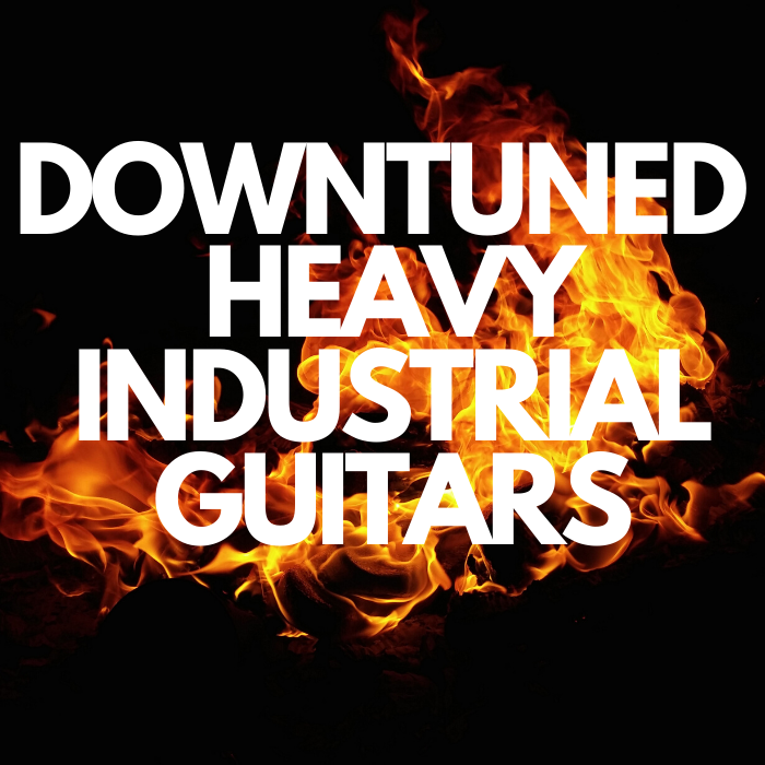 Downtuned Heavy Industrial Guitar: Song and loops