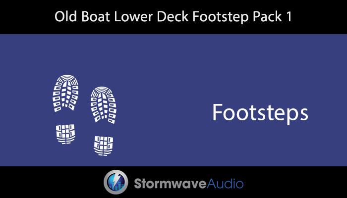 Old Boat Lower Deck Footstep Pack 1