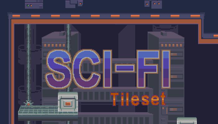 Sci-Fi Pixel Tileset 32×32