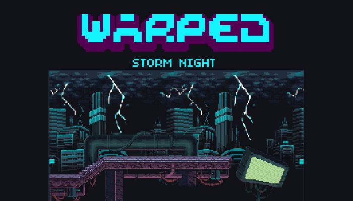 Warped Storm Night