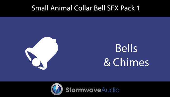 Small Animal Collar Bell SFX Pack 1