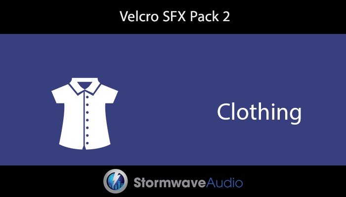 Velcro Sound Effects Pack 2