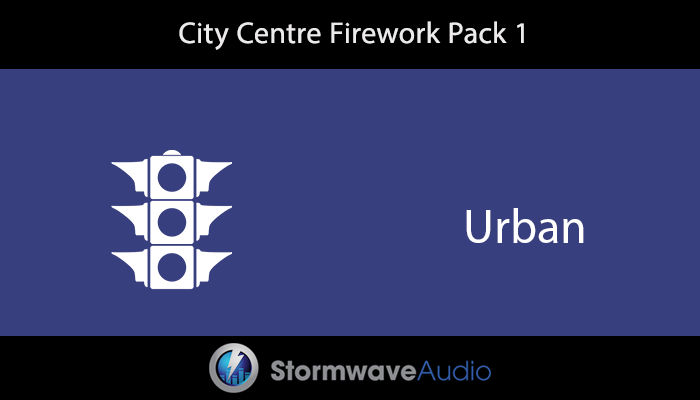 City Centre Distant Firework Pack 1
