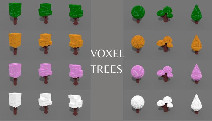 3D Voxel Trees