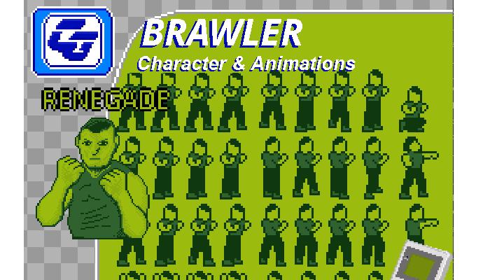Brawler Asset Character 'Renegade' Gameboy