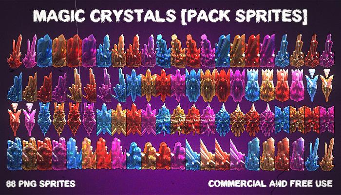 Magic Crystals [Pack Sprites]