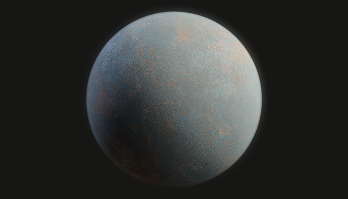 Painted Concrete Substance